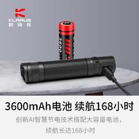 KLARUS凯瑞兹E2手电筒强光充电户外超亮远射隐形口袋便携迷你家用