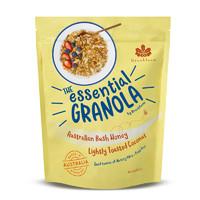 Brookfarm布魯克澳洲進口輕烘焙椰片麥片即食木薯早餐谷物沖飲1kg