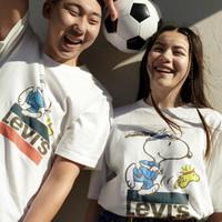 Levi's 李維斯 x Peanuts? 2020夏季聯名系列 16143-0080 男士圓領T恤