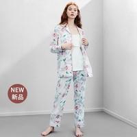 嫚熙(EMXEE)月子服孕妇睡衣纯棉 漏洞+凑单品