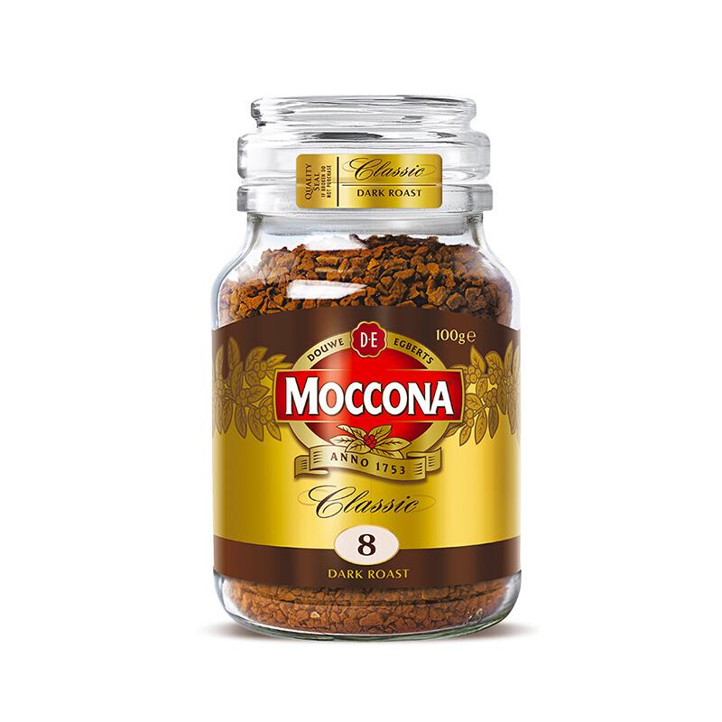 Moccona 摩可纳 MOCCONA进口摩可纳冻干黑咖啡100g