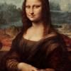 买买艺术 达芬奇《蒙娜丽莎》艺术版画抽象装饰画40*30cm