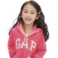 Gap 盖璞 473625 女童卫衣开衫 玫红色 80cm