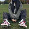Nike耐克男女Air Jordan 6 AJ6复刻白红胭脂高帮情侣款耐磨休闲篮球鞋 384665/CT8529-106(白红胭脂) 44