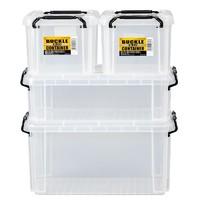 IRIS 爱丽思 透明塑料收纳箱 1.5L