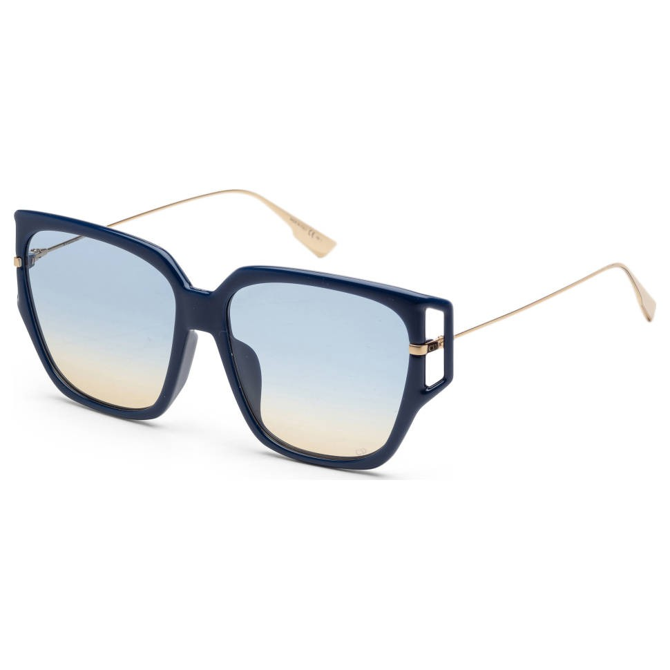 Dior 迪奥 女士太阳镜 DIRECTI3FS-0PJP-84 蓝框蓝片 58mm