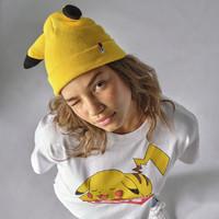 Levi's 李维斯 38022-0292 黄色皮卡丘针织帽