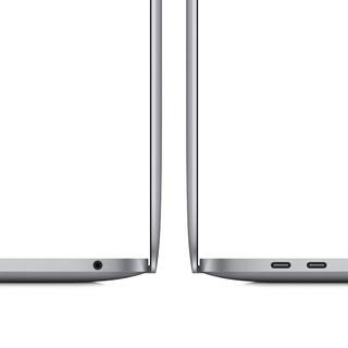 Apple 苹果 MacBook Pro 13.3英寸 轻薄本 深空灰(M1、核芯显卡、16GB、512GB SSD、2K)