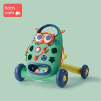 babycare宝宝学步车多功能防侧翻 婴儿学走路助步车