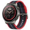 HUAWEI 华为 GT系列 WATCH GT 2 Pro 时尚款 智能手表 46mm 新年红 尼龙表带 4GB(ECG、血氧、GPS、扬声器、温度计)