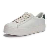 hotwind 热风 H014W0331866 女士拼色时尚小白鞋