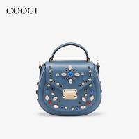 COOGI 2021新款璀璨闪钻手提斜挎双用包