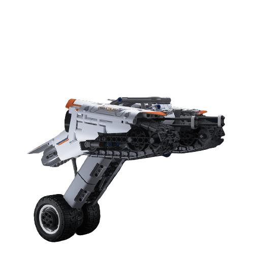 MI 小米 木星黎明系列积木 飞鱼座穿梭器 白色