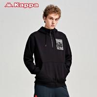 Kappa 卡帕 K0B12MT21D 男士连帽运动卫衣