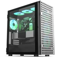 aigo 爱国者 YOGO M4 PRO钛灰色 游戏鞋盒电脑机箱