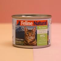plus会员专享 K9 Feline猫罐头新西兰 鸡肉&羊肉170g *7件
