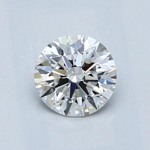 0.54克拉圆形切割钻石 理想切工 G 级成色 VS1 净度