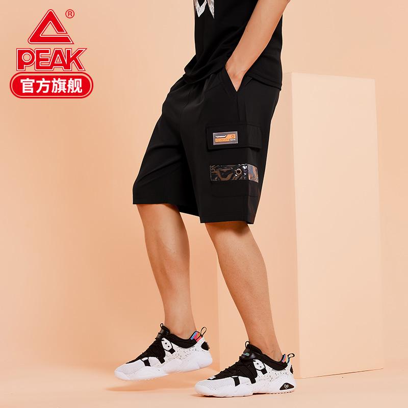 PEAK 匹克 F302345 男子工装短裤