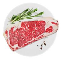 限地区:和升牧苑 谷饲原切西冷牛排600g(3片)+U.S.Prime级雪花肥牛片288g(西冷牛排22.3元/片)