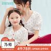 茵曼童装亲子装汉服母女装上衣半身裙套装夏季洋气女童古装中国风 *4件