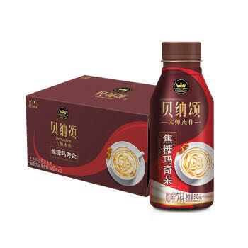 贝纳颂 焦糖玛奇朵咖啡饮料 350ml*15瓶 *2件