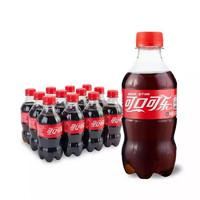 可口可乐 Coca-Cola 汽水 碳酸饮料 300ml*12瓶 整箱装 可口可乐出品 新老包装随机发货 *4件