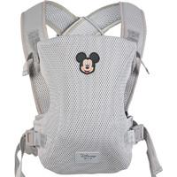 迪士尼(Disney)母婴 宝宝腰凳背带 轻便四季通用前抱式婴儿多功能透气出行背孩子背巾卡通米奇YDU-910-1 *2件
