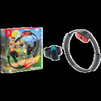 Nintendo 任天堂 Switch游戏主机 海外版系列 HAC-R-AL3PA 主机游戏 体感健身环