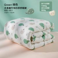 gb好孩子嬰兒秋冬厚款被子兒童幼兒園新生寶寶純棉被子四季通用款