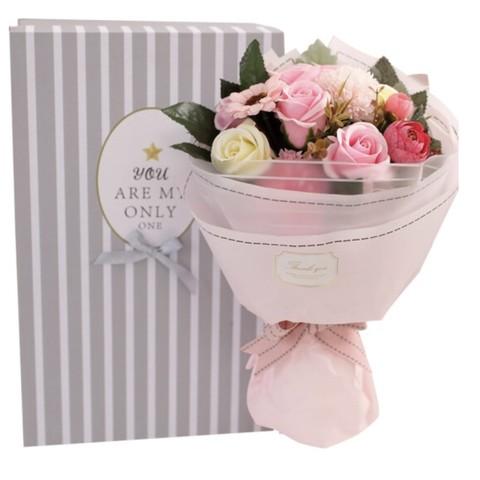 京东PLUS会员:初朵 11朵粉香皂玫瑰花束
