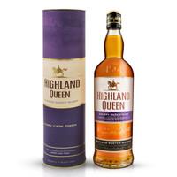 京东PLUS会员:HIGHLAND QUEEN 高地女王 苏格兰雪莉桶调配型威士忌 700ml *3件
