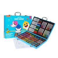 京东PLUS会员:Crayola 绘儿乐 04-1148 鲨鱼宝宝绘画工具礼盒 140件套