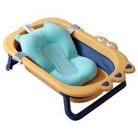 京东PLUS会员:babyhood 世纪宝贝  BH-327+212 婴儿折叠浴盆 搭配浴垫 +凑单品
