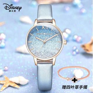 迪士尼(Disney)手表女简约气质ins风防水极简风满天星高中女生中学生手表MK-11325GY
