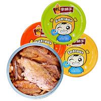 LEASUN FOOD 林家铺鱼罐头 105g*4罐
