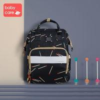 BABYCARE媽咪包新款時尚多功能大容量母嬰背包媽媽外出防水雙肩包