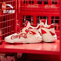 ANTA 安踏 11928088S 可口可乐联名 男款休闲鞋子