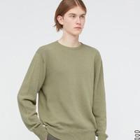 UNIQLO 優衣庫 437346 男裝圓領針織衫