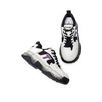 天美意2021春新款网红厚底老爹鞋女显脚小潮酷运动休闲鞋1LDX0AM1 紫色 37 *2件