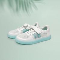 巴拉巴拉女小童板鞋年新款 中大童小白鞋儿童夏季果冻鞋