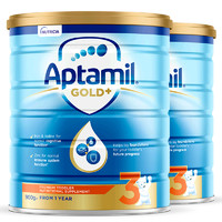 Aptamil 爱他美 金装 婴儿奶粉 3段 900g 2罐装 *2件