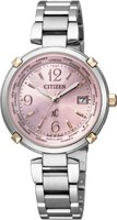 CITIZEN西铁城 腕表 XC Eco-Drive 光动能驱动 电波腕表 TITANIA LINE HAPPY LIGHT(幸福光芒系列) 女士