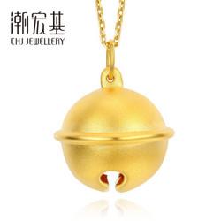 CHJ 潮宏基 XPG30000940 哆啦A梦铃铛黄金吊坠 大版 约1.75g