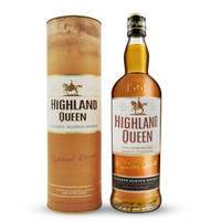HIGHLAND QUEEN 高地女王 3年调和威士忌 700ml *3件