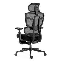 Hbada 黑白调 HDNY186BM 人体工学电脑椅