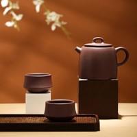 8日0点:J.ZAO 京东京造 紫砂功夫茶具套装 3件套