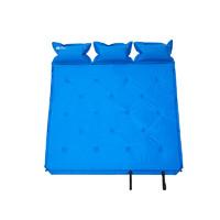 牧高笛(MOBIGARDEN) 露营野营带枕头透气加厚睡垫三人防潮垫自动充气垫 EX20663001 天蓝 *3件