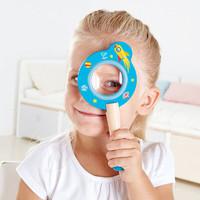 德国(Hape) 儿童玩具 太空历险放大镜 *14件