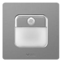 公牛(BULL) 開關插座 G12系列 人體感應地腳燈86型暗裝面板G12D123 星空灰 *3件