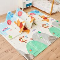迪士尼Disney 爬行垫宝宝爬爬垫婴儿地垫xpe折叠加厚1.5cm双面垫子